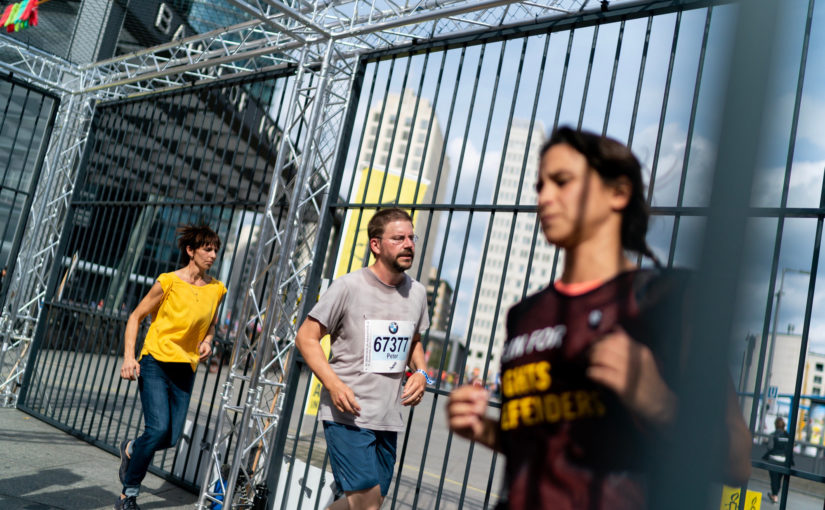 BerlinMarathon: Bilder von Amnesty International / Henning Schacht