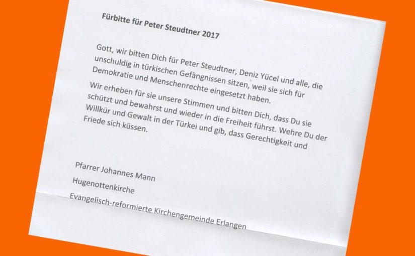 Kommentargottesdienst und Menschenrechtspreis | 21.11.2018 Hugenottenkirche Erlangen