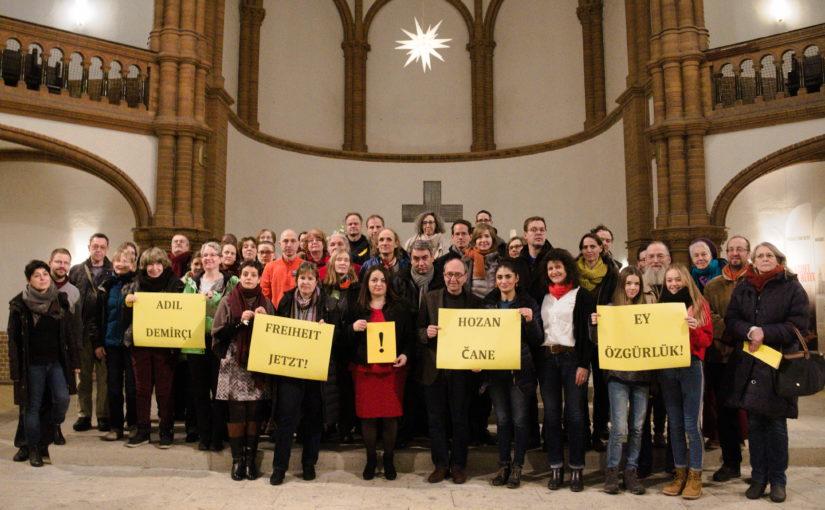 DANKE! Ein voller Erfolg: 26.1.2019 – Berlin, Gethsemanekirche | Die Magie der Solidarität mit Doğan Akhanlı & Peter Steudtner