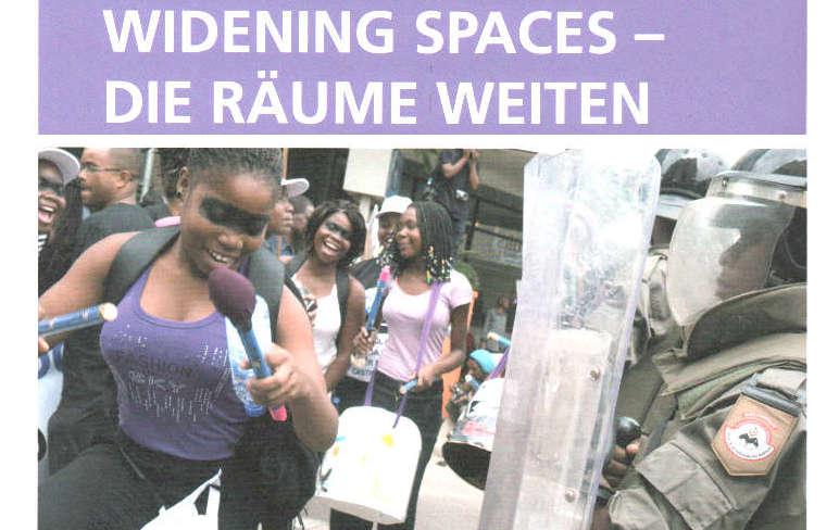 Bildstrecke WIDENING SPACES | Jahresbericht der Stiftung Nord-Süd-Brücken