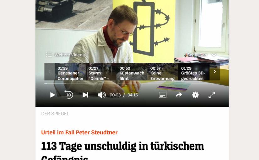 Pressearbeit und Medienarbeit zum Verfahren am 19.2.2020: Spiegel-Online und Süddeutsche Zeitung